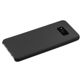 Soft Gel Silicone Case for Samsung Galaxy S8+, Satin Black