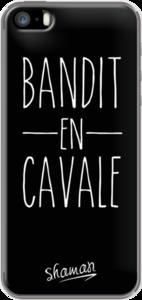 Case Coque ' Bandit en Cavale ' by Le Fabuleux Shaman