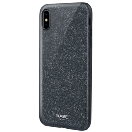Sparkly Glitter Slim Case for Apple iPhone XS Max, Black
