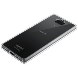 Invisible Hybrid Case for Sony Xperia 10 Plus, Transparent