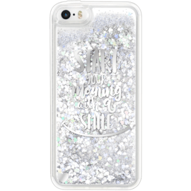Bling Bling Hybrid Glitter Case for Apple iPhone 5/5S/SE, Your Best Morning