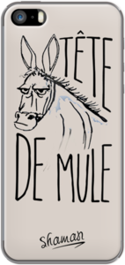 Case Coque ' Tête de Mule ' by Le Fabuleux Shaman