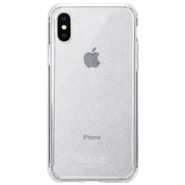 Custodia in silicone scintillante invisibile per Apple iPhone X/XS