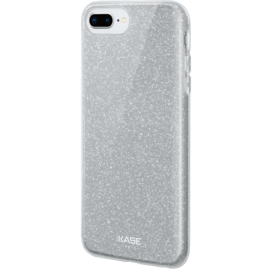 Sparkly Glitter Slim Case for Apple iPhone 6/6s/7/8 Plus, Silver