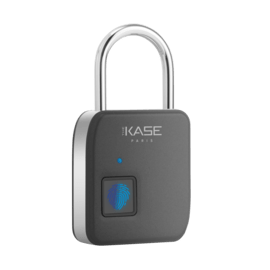 Smart Waterproof IP65 Biometric Lock, Black