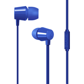 Case K In-ear Headphones, Cobalt Blue