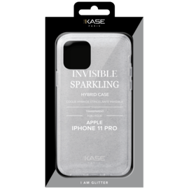 Invisible Sparkling Hybrid Case for Apple iPhone 11 Pro, Transparent