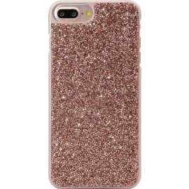Case Étui en strass Bling pour Apple iPhone 6 Plus / 6s Plus / 7 Plus / 8 Plus, Rose Gold