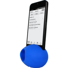Egg Sound amplifier for Apple iPhone 4/4S, Blue
