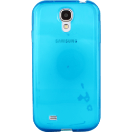 Case Case for Samsung Galaxy S4, Blue silicone