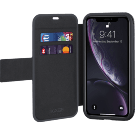 Coque clapet robuste fitness pour Apple iPhone XR, Noir