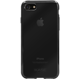 Case Invisible Electroplated Silicone Case for Apple iPhone 7/8, Black