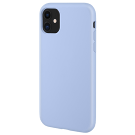 Anti-Shock Soft Gel Silicone Case for Apple iPhone 11, Lilac Blue