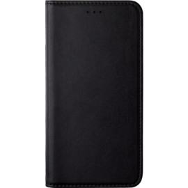 Folio Flip case with card slot & stand for Huawei P Smart, Black