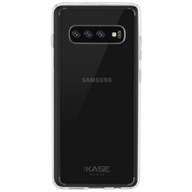 Coque hybride invisible pour Samsung Galaxy S10+ Transparent