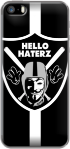 Case HELLO HATERZ COLLECTION / ANONYMOUS RAIDERS by MalkoArtz