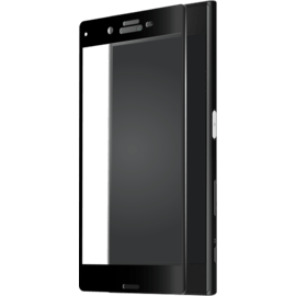 Full Coverage Tempered Glass Screen Protector for Sony Xperia XZ/XZs, Black