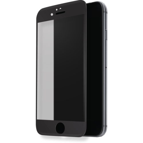 Case Curved Edge-to-Edge Tempered Glass Screen Protector for Apple iPhone 7, Black