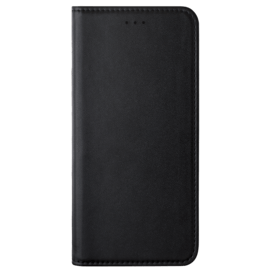Folio flip case with card slot & stand for Samsung Galaxy A6+ (2018) , Black