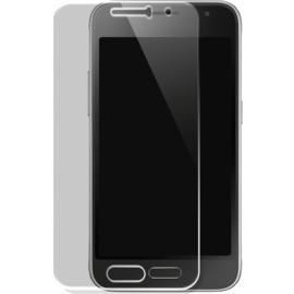Case Tempered Glass Screen Protector for Samsung Galaxy J1(2016), Transparent