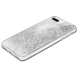 Bling Bling Hybrid Glitter Case for Apple iPhone 6/6S/7/8 Plus, Galaxy Silver