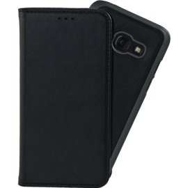 Case 2-in-1 Magnetic Slim Wallet & Case for Samsung Galaxy A3 (2017), Black