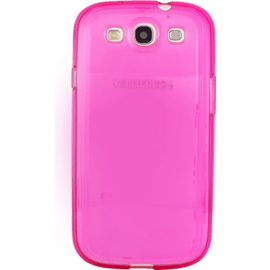Case Case for Samsung Galaxy S3, Pink silicone