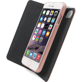 2-in-1 GEN 2.0 Magnetic Slim Wallet & Case for Apple iPhone 6/6s/7/8/SE 2020, Rose Gold