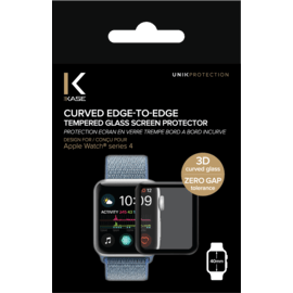 Curved Edge-to-Edge Tempered Glass Screen Protector for Apple Watch® Series 4 40mm