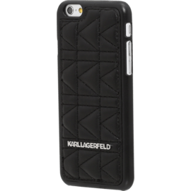 Karl Lagerfeld Kuilted Coque pour Apple iPhone 6/6s, Noir