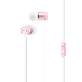 High-Clarity Noise Isolating In-Ear Headphones, Rose Gold
