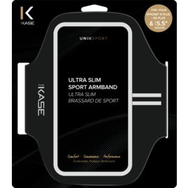 Ultra Slim Brassard de Sport pour Apple iPhone 6 Plus/6s Plus, Noir