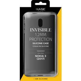 Coque slim invisible pour Nokia 3 (2017) 1.2mm, Transparent