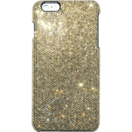 Case Coque pour Apple iPhone 6 Plus/6s Plus, Strass Doré