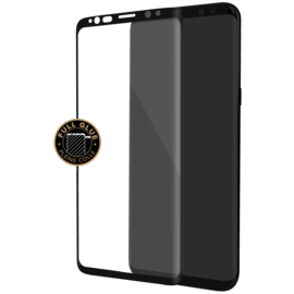 Elite Curved Edge-to-Edge Tempered Glass Screen Protector for Samsung Galaxy S9, Black