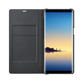 LED View cover - Black for Galaxy Note 8