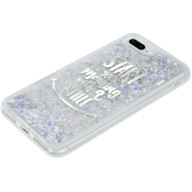 Coque Bling Bling hybride pailletée pour Apple iPhone 6 Plus/6s Plus/7 Plus/8 Plus, Your Best Morning