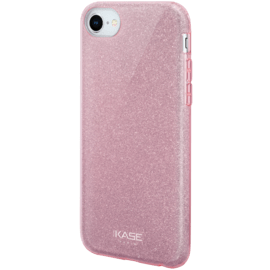 Custodia sottile Sparkly Glitter per Apple iPhone 6 / 6s / 7/8 / SE 2020, oro rosa