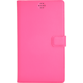 Case Universal flip case for Smartphone (up to 5.5 inch), Fandango Pink