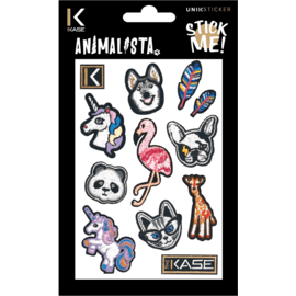 Animalista Embroidered Stickers