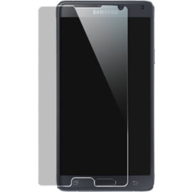 Premium Tempered Glass Screen Protector for Samsung Galaxy Note 4, Transparent