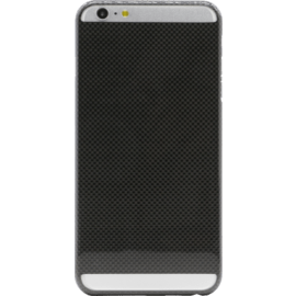 Case Coque pour Apple iPhone 6 Plus/6s Plus, Carbone véritable Noir