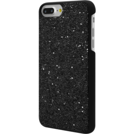 Coque en strass Bling pour Apple iPhone 6 Plus / 6s Plus / 7 Plus / 8 Plus, Midnight Black