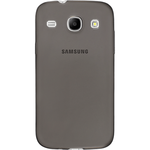 Case Silicone Case for Samsung Galaxy Core i8260/i8262, Transparent Grey