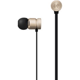 Case High-Clarity Noise Isolating In-Ear Headphones, Champagne Gold