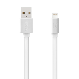 Fast Charge 2.4A max Apple MFi certified lightning charge/ sync cable (1M), Bright White
