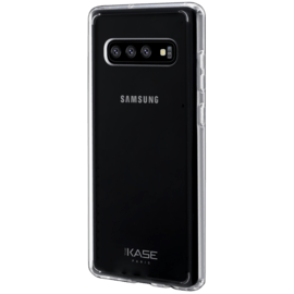 Coque hybride invisible pour Samsung Galaxy S10, Transparent