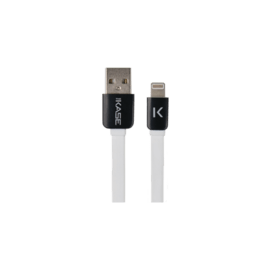 Case Lightning Flat cable to USB (1m), Bright White