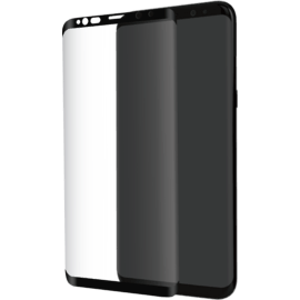 Advanced Curved Edge-to-Edge Tempered Glass Screen Protector for Samsung Galaxy S9, Black