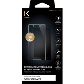 Premium Tempered Glass Screen Protector for Sony Xperia Z5 premium, Transparent